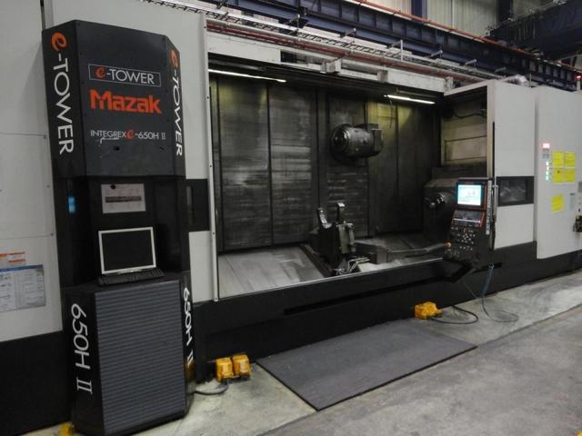 mehr Bilder Drehmaschine Mazak Integrex E 650 H S II