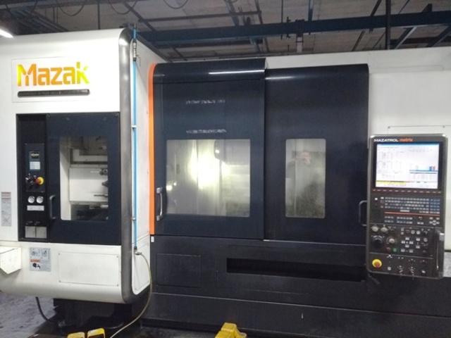 mehr Bilder Drehmaschine Mazak Integrex i 400 S