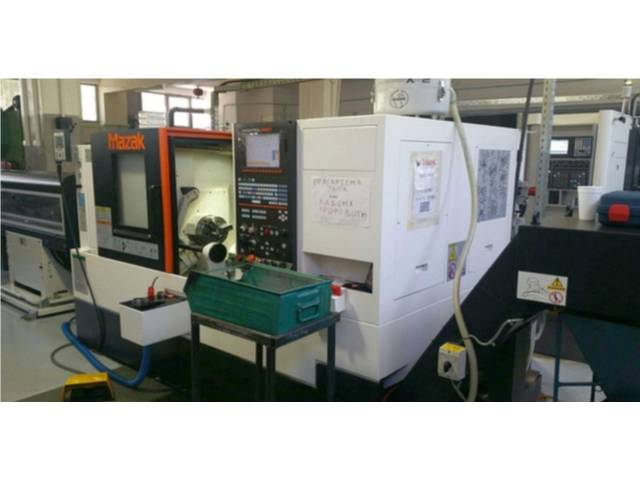 mehr Bilder Drehmaschine Mazak Quick Turn Smart 200 x 500
