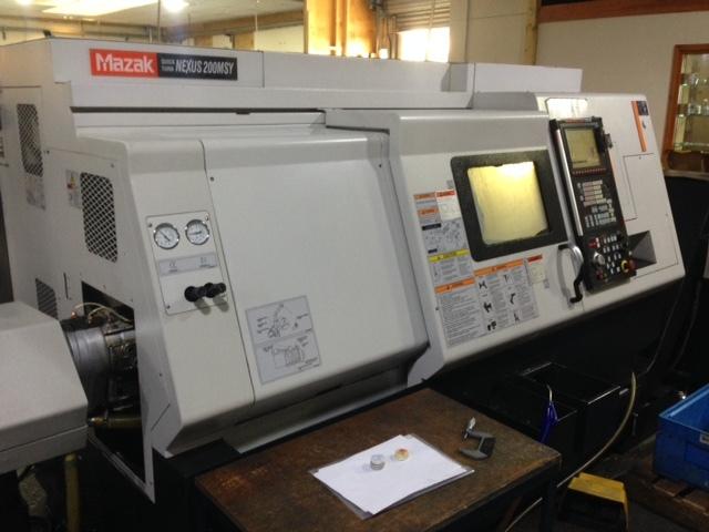 mehr Bilder Drehmaschine Mazak QT Nexus 200 MSY