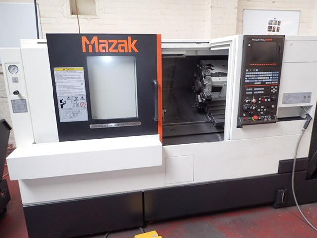 mehr Bilder Drehmaschine Mazak QT Smart 200 x 500