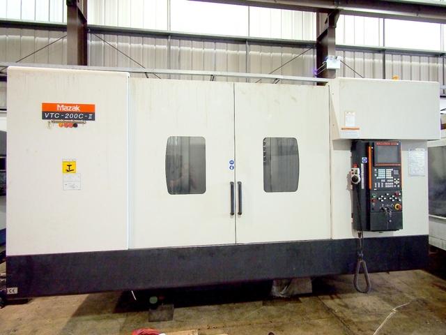mehr Bilder Fräsmaschine Mazak VTC 200 C II