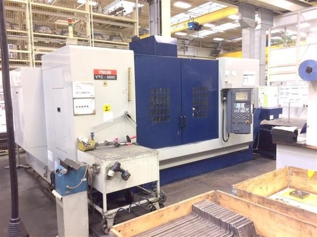 mehr Bilder Mazak VTC 300 C, Fräsmaschine Bj.  2001