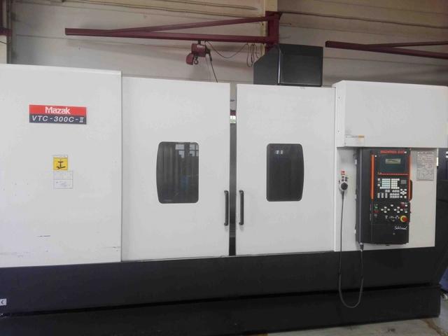 mehr Bilder Mazak VTC 300 II C, Fräsmaschine Bj.  2007