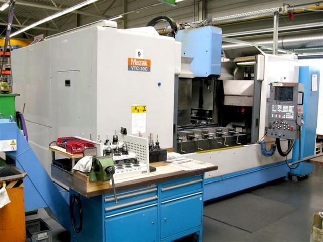 mehr Bilder Mazak VTC 30 C, Fräsmaschine Bj.  1999