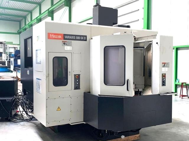 mehr Bilder Mazak Variaxis 500 - 5 II, Fräsmaschine Bj.  2007