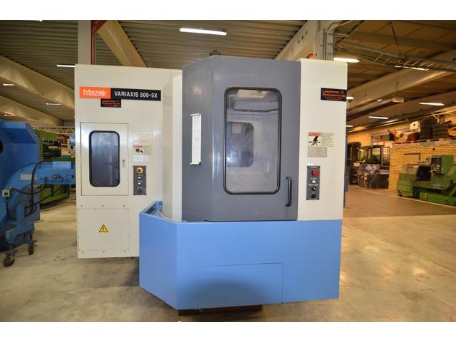 mehr Bilder Fräsmaschine Mazak Variaxis 500 5X