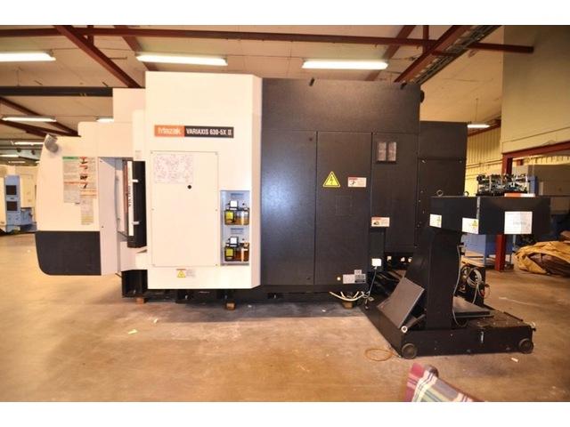 mehr Bilder Mazak Variaxis 630 5X II, Fräsmaschine Bj.  2002
