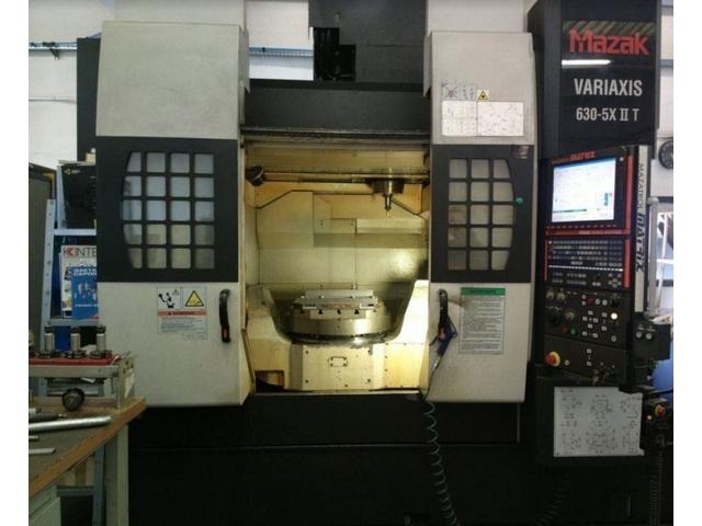 mehr Bilder Fräsmaschine Mazak Variaxis 630 5 X II T