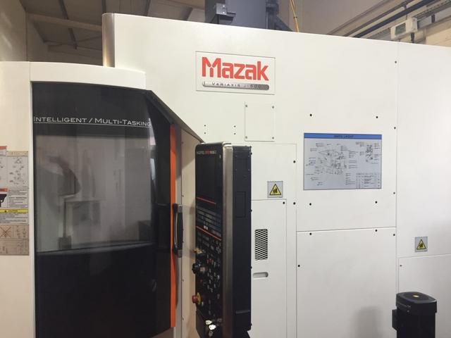 mehr Bilder Fräsmaschine Mazak Variaxis J 500