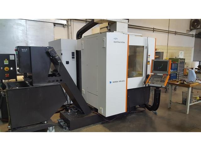 mehr Bilder Fräsmaschine Mikron HPM 450 U