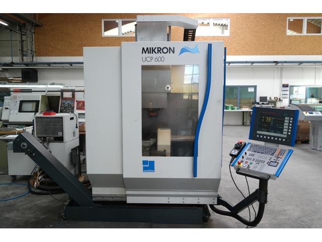 mehr Bilder Mikron UCP 600, Fräsmaschine Bj.  2004