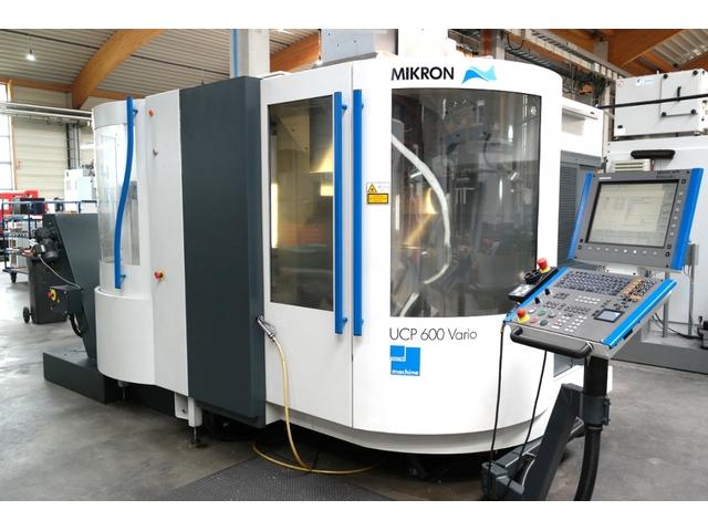 mehr Bilder Mikron UCP 600 Vario, Fräsmaschine Bj.  2006