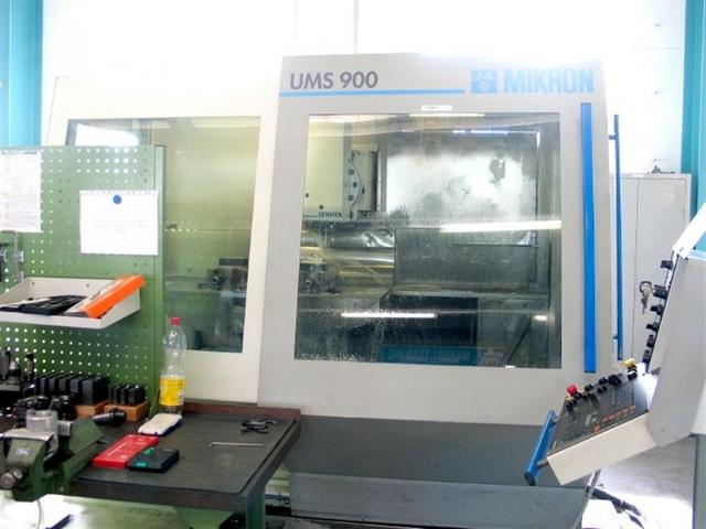 mehr Bilder Fräsmaschine Mikron USM 900