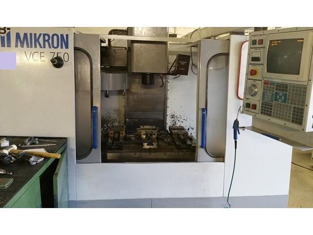 mehr Bilder Mikron Haas VCE 750, Fräsmaschine Bj.  1998