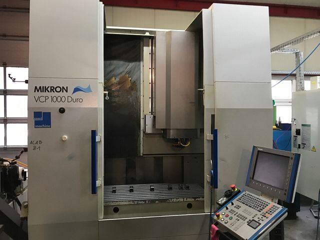 mehr Bilder Mikron VCP 100 Duro, Fräsmaschine Bj.  2004