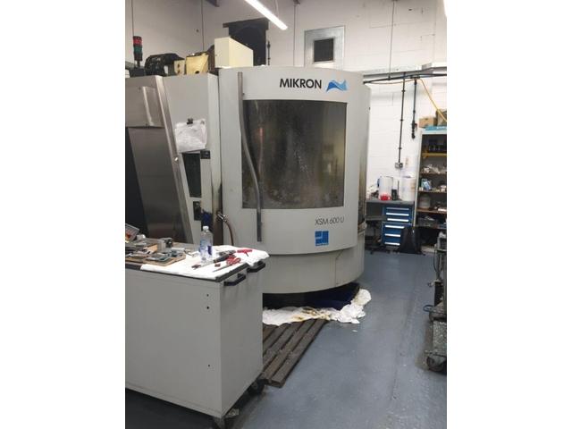 mehr Bilder Mikron XSM 600 U, Fräsmaschine Bj.  2006