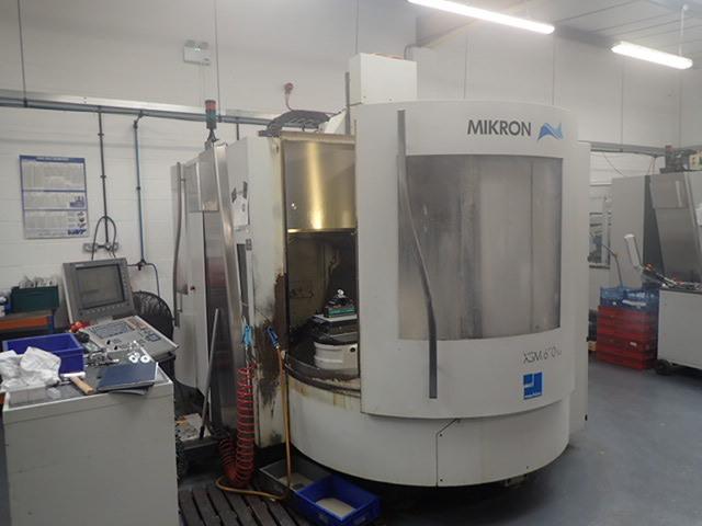mehr Bilder Mikron XSM 600 U  7 apc, Fräsmaschine Bj.  2006