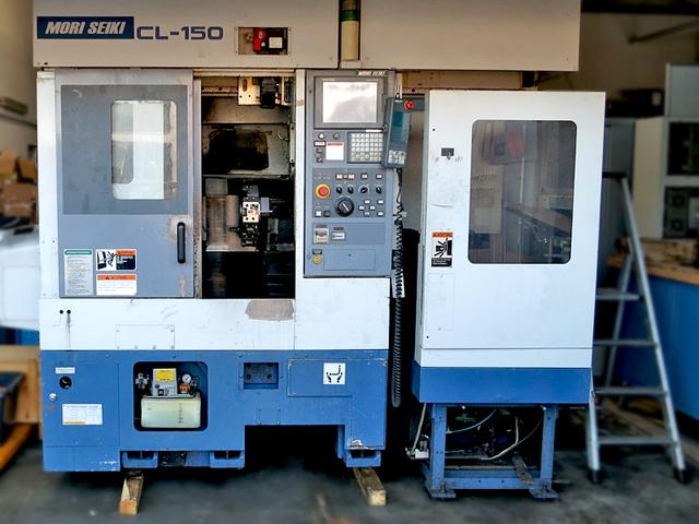 mehr Bilder Drehmaschine Mori Seiki CL 150 ladeportal/gentry
