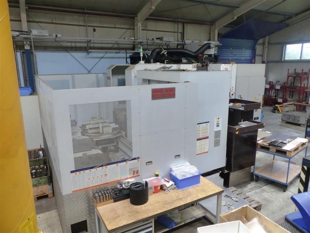 mehr Bilder Mori Seiki NH 6300 DCG APC 6, Fräsmaschine Bj.  2012