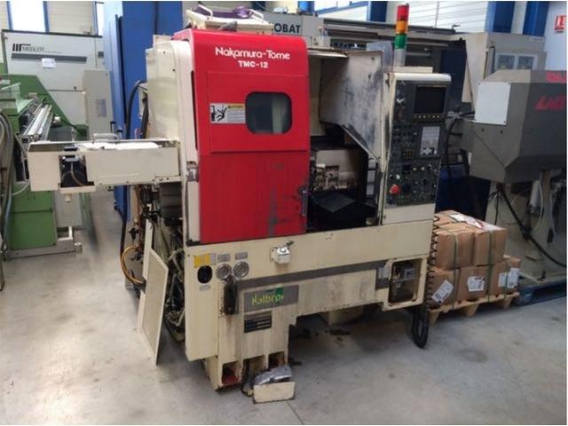 mehr Bilder Drehmaschine Nakamura TMC 12