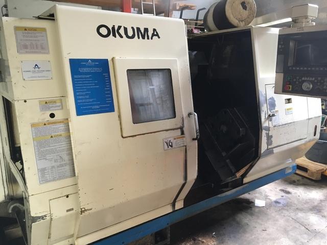 mehr Bilder Drehmaschine Okuma LU 15