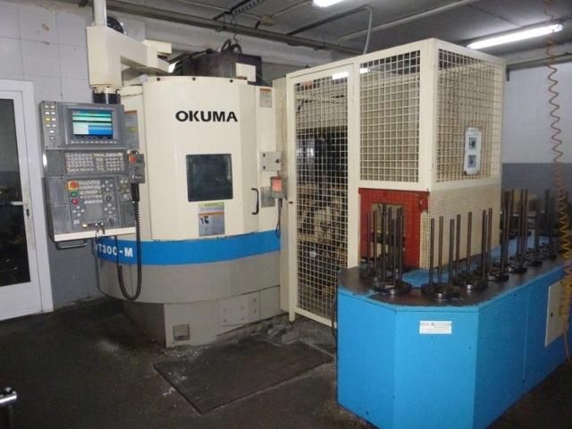 mehr Bilder Drehmaschine Okuma LVT 300 M