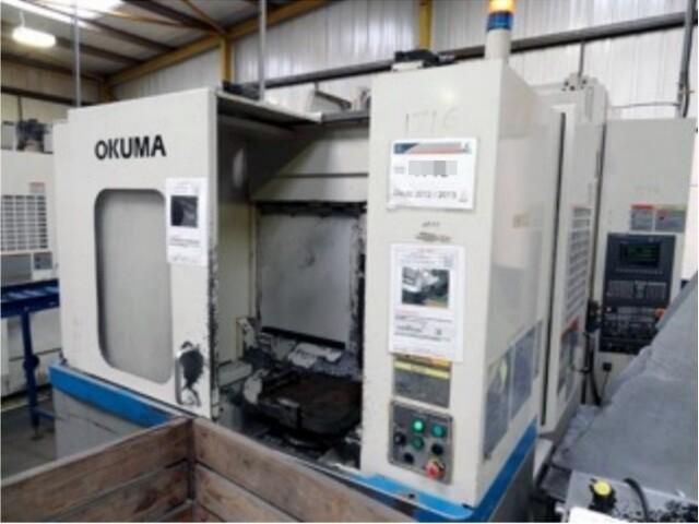 mehr Bilder Fräsmaschine Okuma MA 40 HA