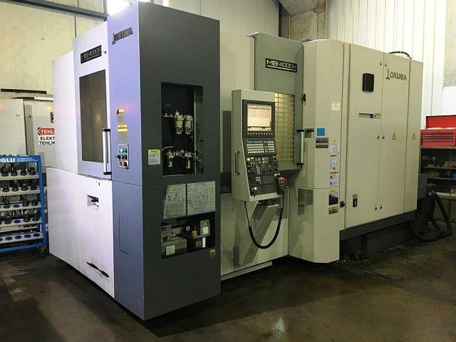 mehr Bilder Fräsmaschine Okuma MB 400 H