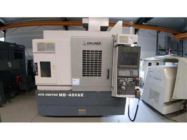 mehr Bilder Fräsmaschine Okuma MB 46 VAE