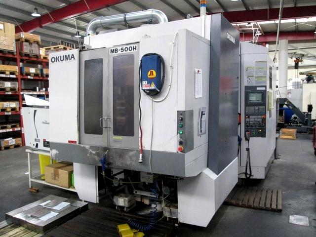 mehr Bilder Fräsmaschine Okuma MB 500 H