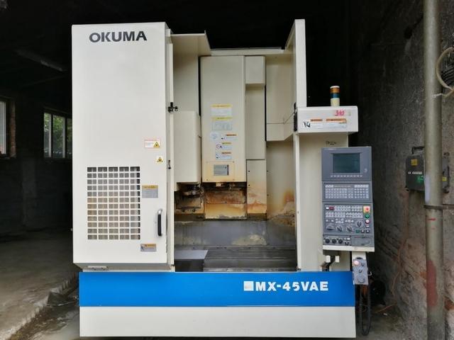 mehr Bilder Fräsmaschine Okuma MX - 45 VAE