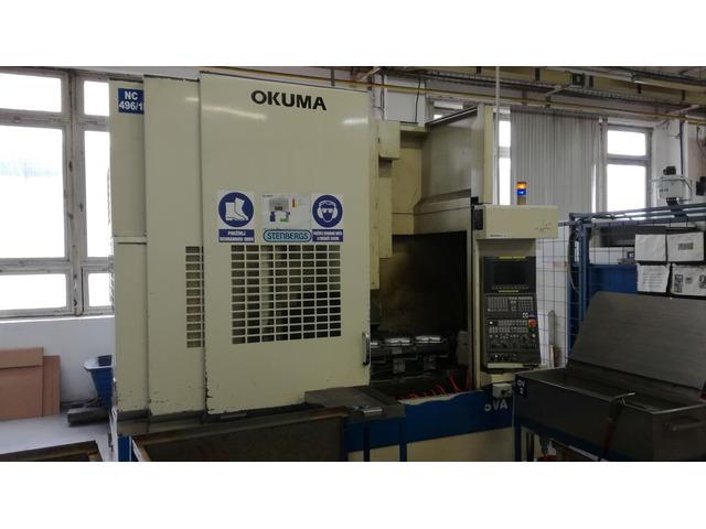 mehr Bilder Fräsmaschine Okuma MX 55 VA