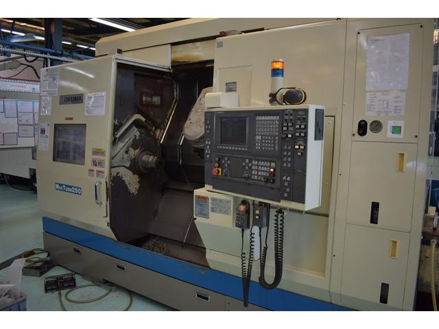 mehr Bilder Drehmaschine Okuma Mac Turn 250