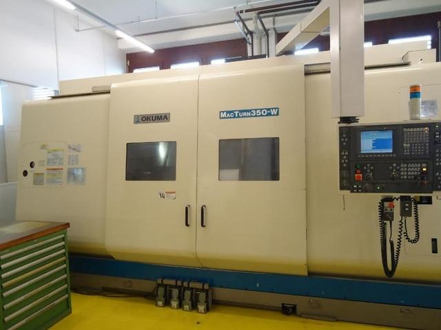 mehr Bilder Drehmaschine Okuma Mac Turn 350 2 SW