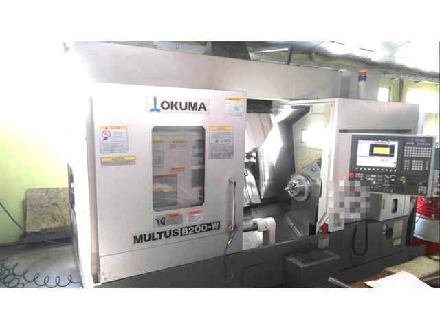 mehr Bilder Drehmaschine Okuma Multus B 200 W