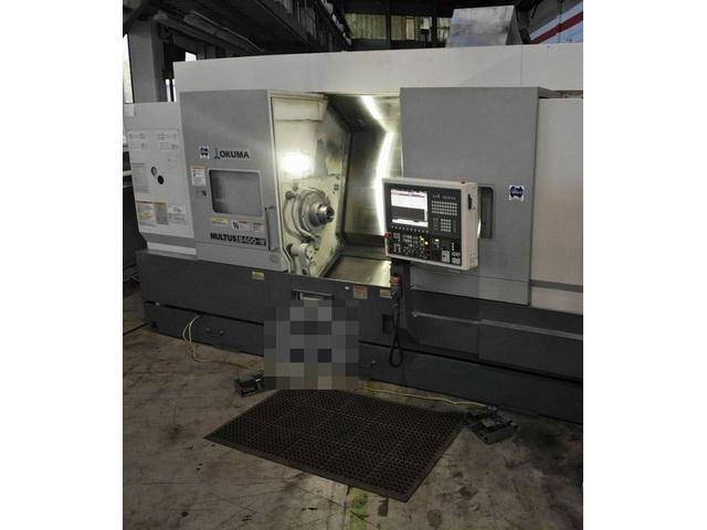 mehr Bilder Drehmaschine Okuma Multus B 400 W
