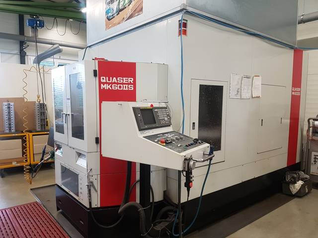 mehr Bilder Fräsmaschine Quaser MK 60  II S
