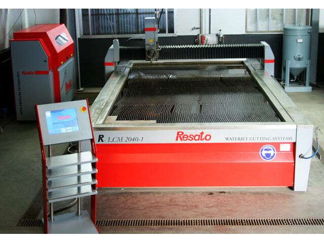 mehr Bilder Resato R - LCM 2040 - 1 CNC Wasserstrahlschneiden