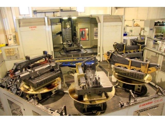 mehr Bilder Sachman T 314 HS x 3.500 Bettfräsmaschinen