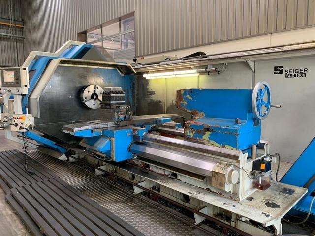 mehr Bilder Drehmaschine Seiger SLZ 1000 x 2000