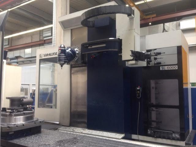 mehr Bilder Soraluce 6000 SL Bettfräsmaschinen