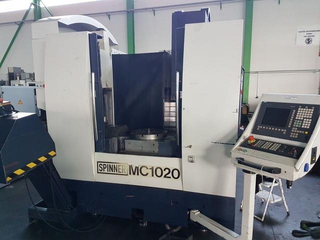 mehr Bilder Spinner MC 1020, Fräsmaschine Bj.  2003