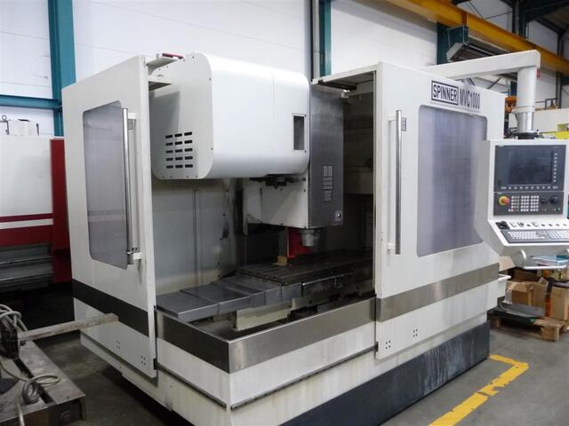 mehr Bilder Spinner MVC 1000, Fräsmaschine Bj.  2011