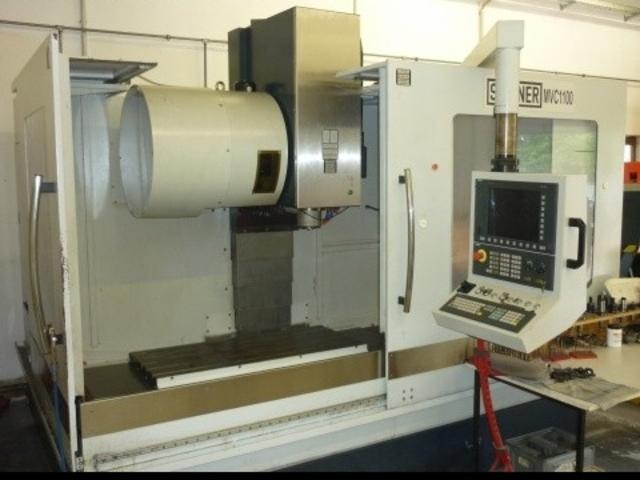 mehr Bilder Fräsmaschine Spinner MVC 1100