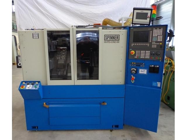mehr Bilder Drehmaschine Spinner PD CNC