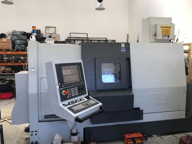 mehr Bilder Drehmaschine Spinner TC 800 / 77 SMCY