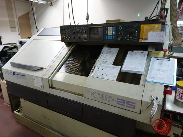 mehr Bilder Drehmaschine Star KNC 25