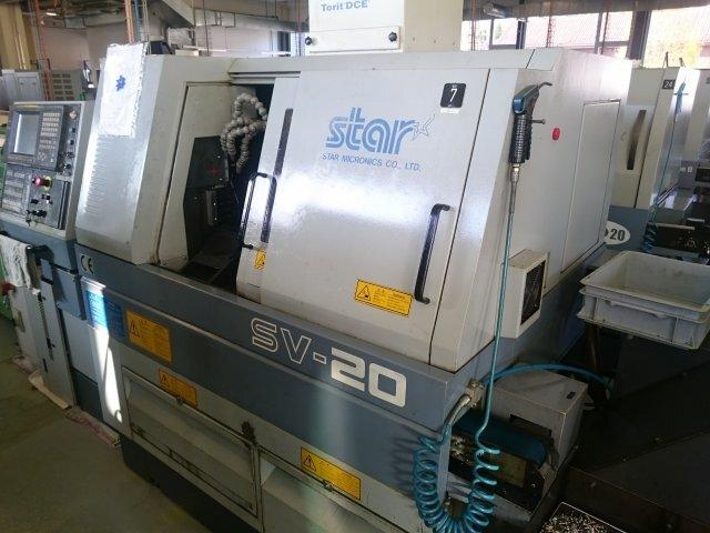mehr Bilder Star SV 20 Langdrehmaschinen