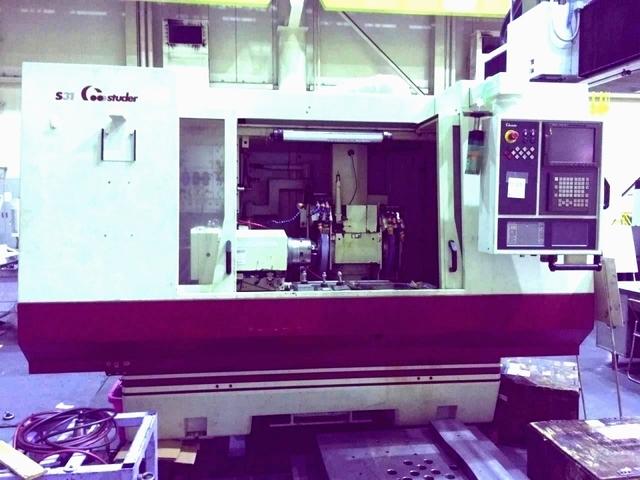 mehr Bilder Schleifmaschine Studer S 31 universal full +B axis + C axis rebuilt